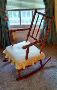 My dad's rocking chair.