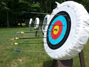 """Fundamentally the marksman aims at himself."" - Zen In The Art Of Archery"
